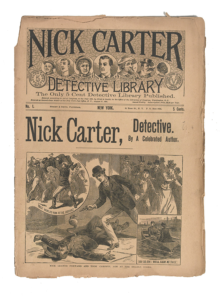 CARTER-NICK-[Various-uncredited-authors]-Large-Group-of-Nick
