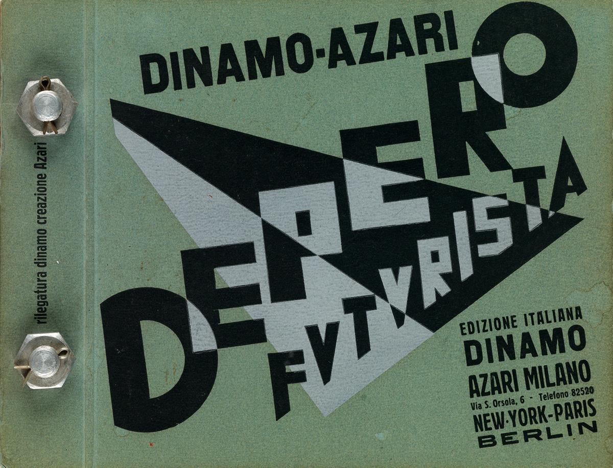 FORTUNATO-DEPERO-(1892-1960)-FUTURISTA-Bolted-book-1927-9x12