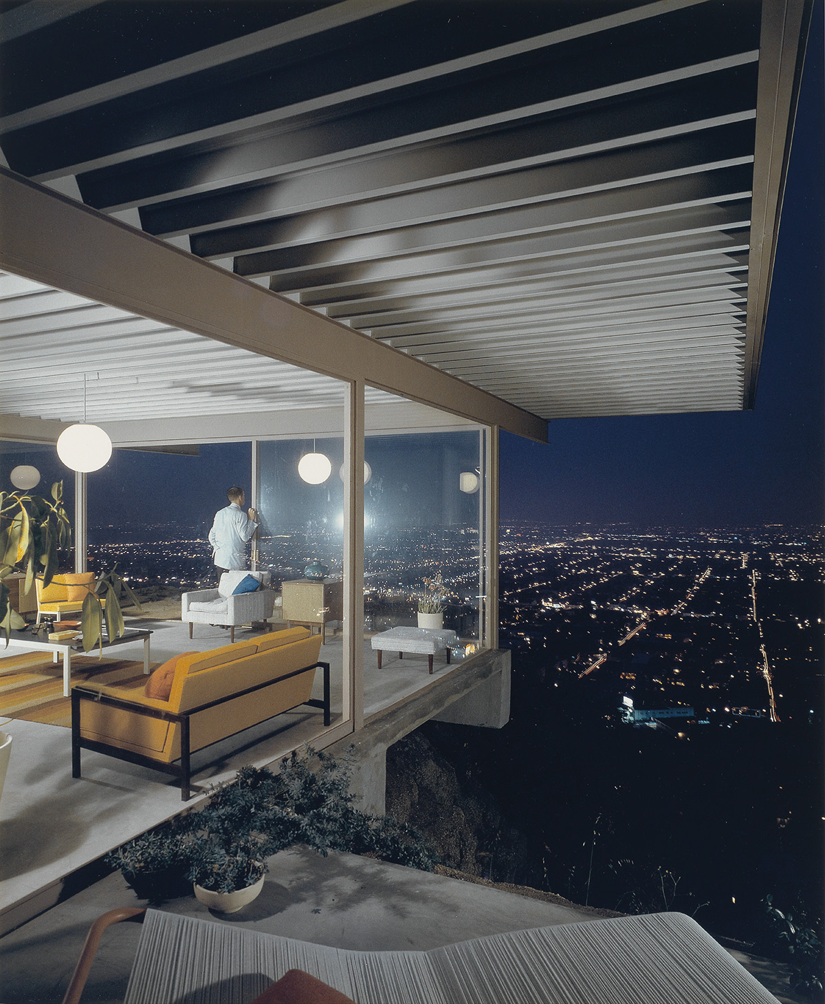 JULIUS SHULMAN (1910-2009) Los Angeles, Pierre Koening, Case Study House #22.