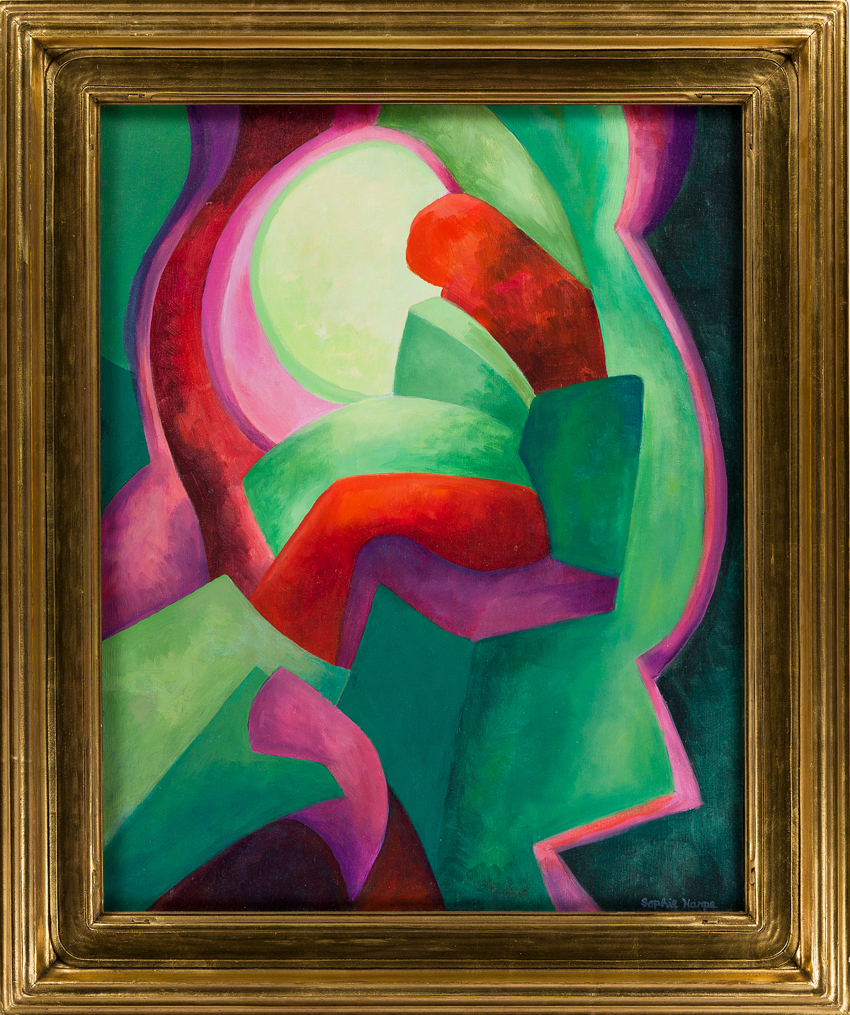 SOPHIE HARPE Abstract Figure.