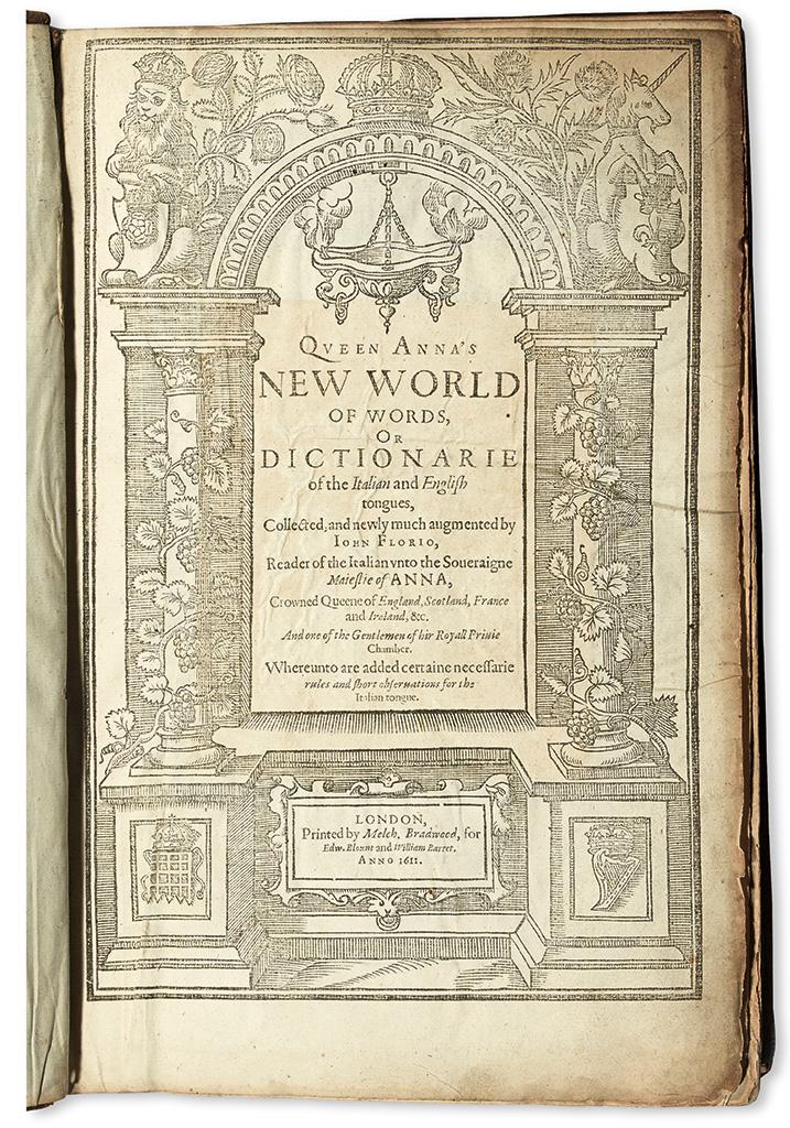 FLORIO-JOHN-Queen-Annas-New-World-of-Words;-or-Dictionarie-o