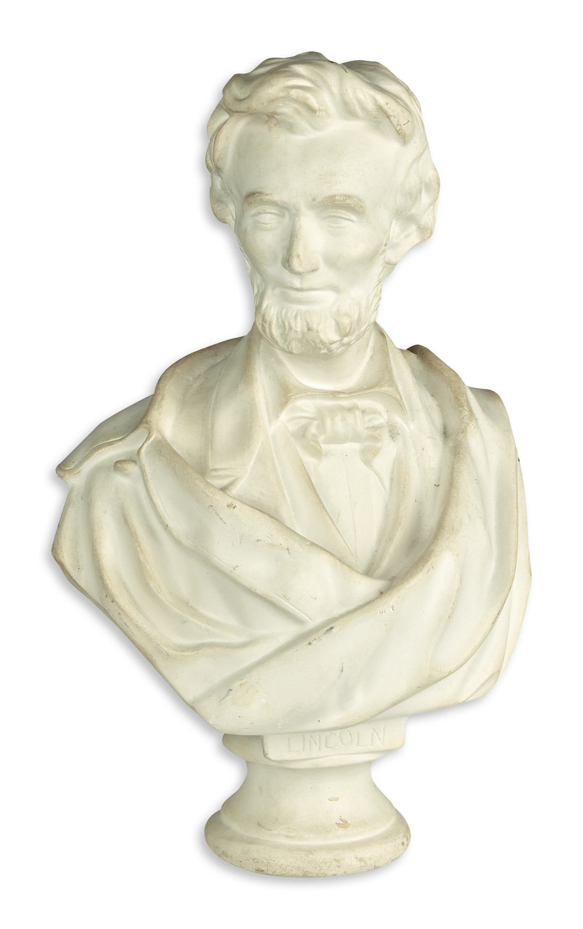 (SCULPTURE)-Pair-of-copies-of-important-early-Lincoln-sculpt