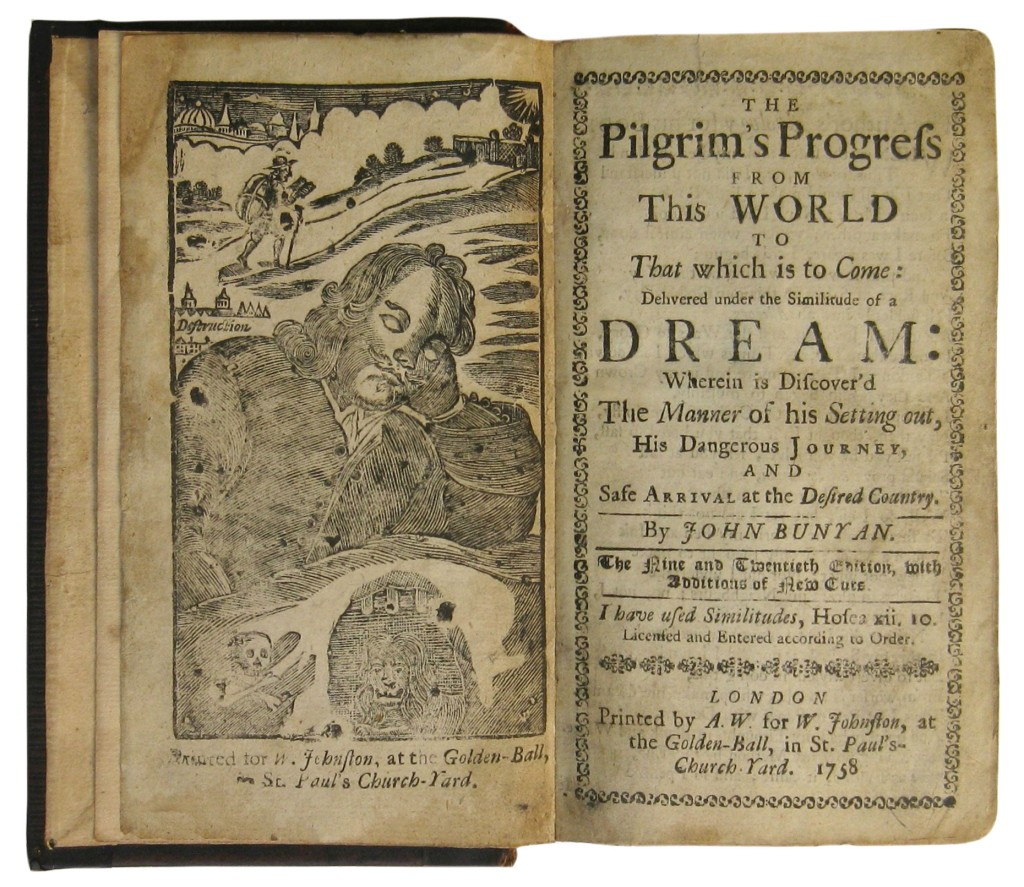 BUNYAN-JOHN-The-Pilgrims-Progress--1758-58-57--Lacks-the-fin