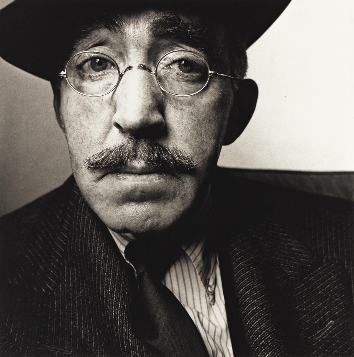 IRVING PENN (1917-2009) S.J. Perelman.