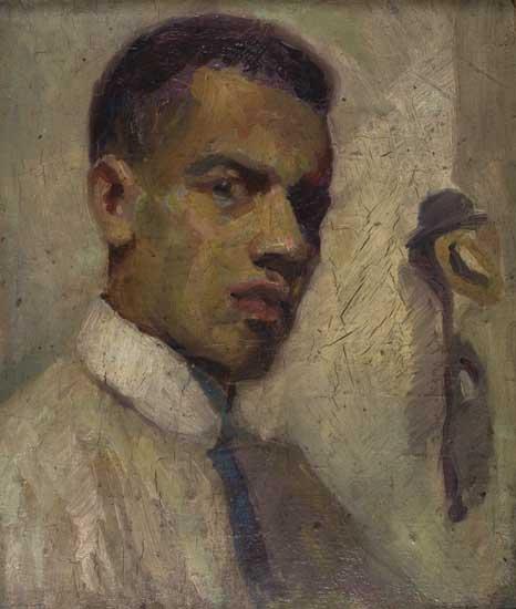 LENWOOD-MORRIS-Self-Portrait