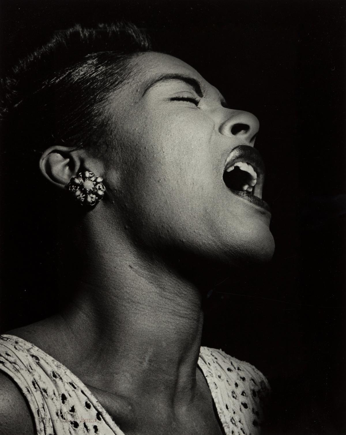 WILLIAM GOTTLIEB (1917-2006) Billie Holiday.