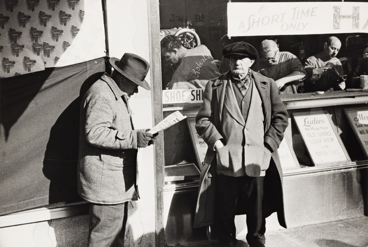 HENRI CARTIER-BRESSON (1908-2004) Bowery (A short time only).
