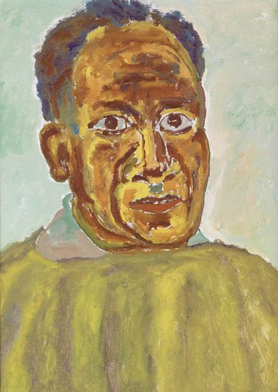 BEAUFORD DELANEY (1901 - 1979) Self-Portrait.