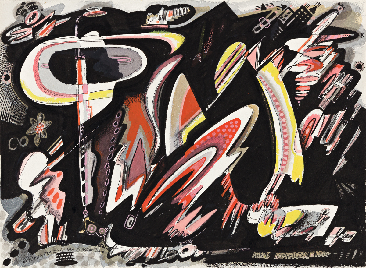 PENROD CENTURION (1905 - 1986, GERMAN/AMERICAN) Cromorfia Imagina Duro No. 34.
