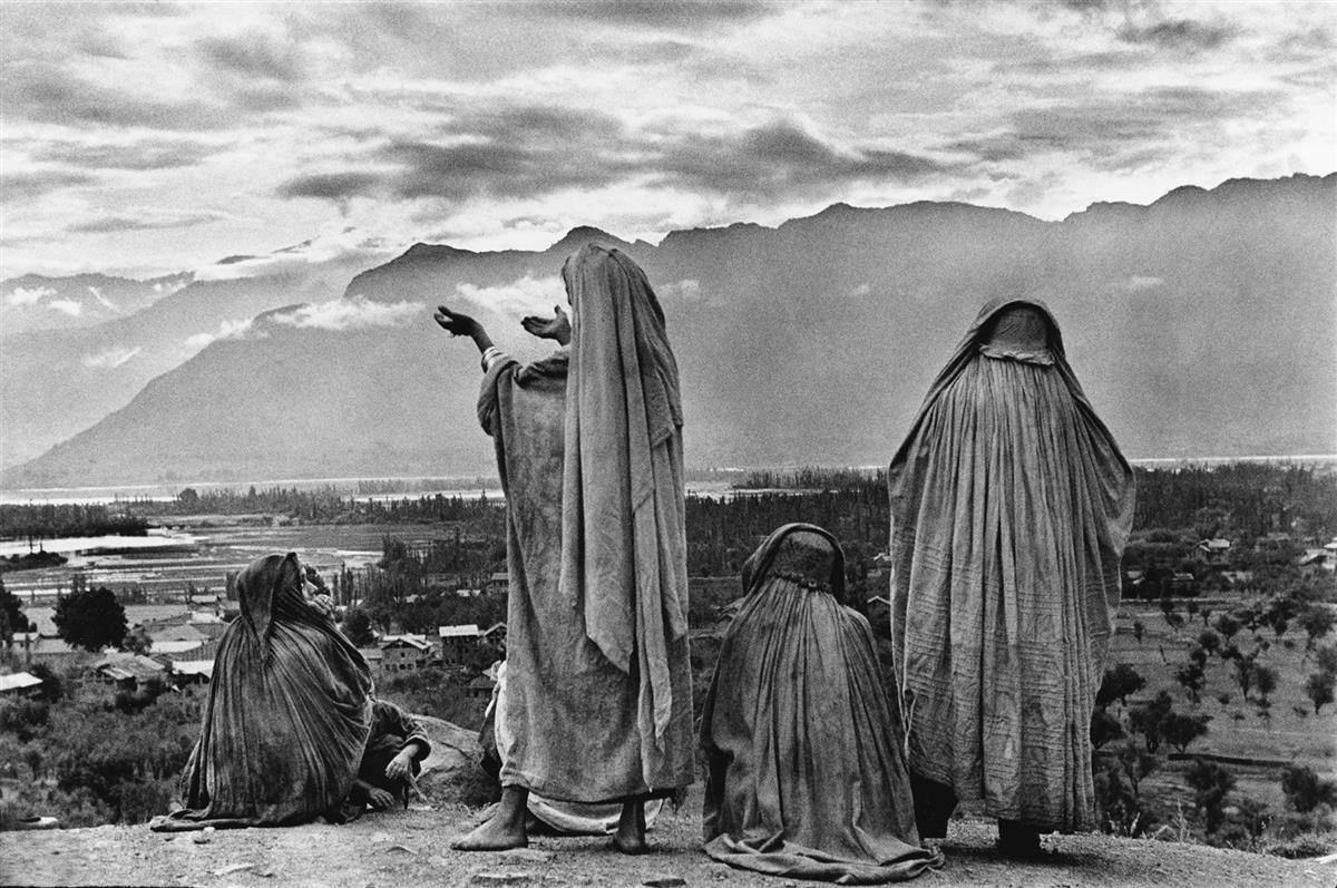 HENRI CARTIER-BRESSON (1908-2004) Kashmir.