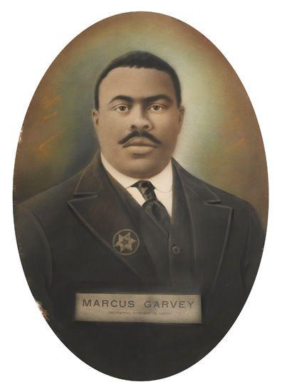 GARVEY, MARCUS. Provisional President of Africa.