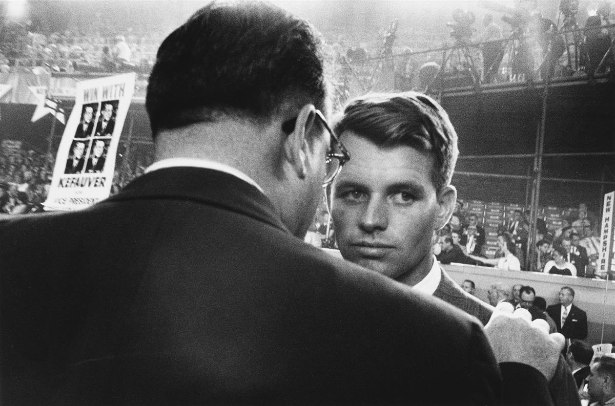 ROBERT FRANK (1924-2019) Chicago Convention.
