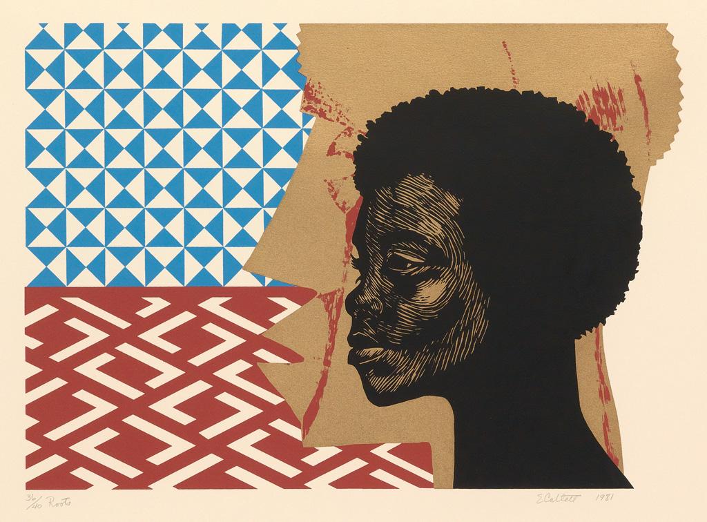 ELIZABETH CATLETT (1915 - 2012) Roots.