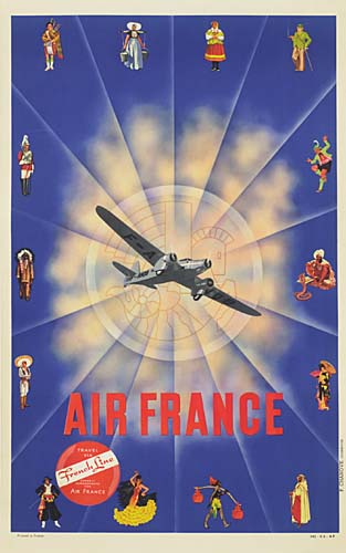 ANONYMOUS-AIR-FRANCE-38x24-inches-P-Chanove-Courbevoie