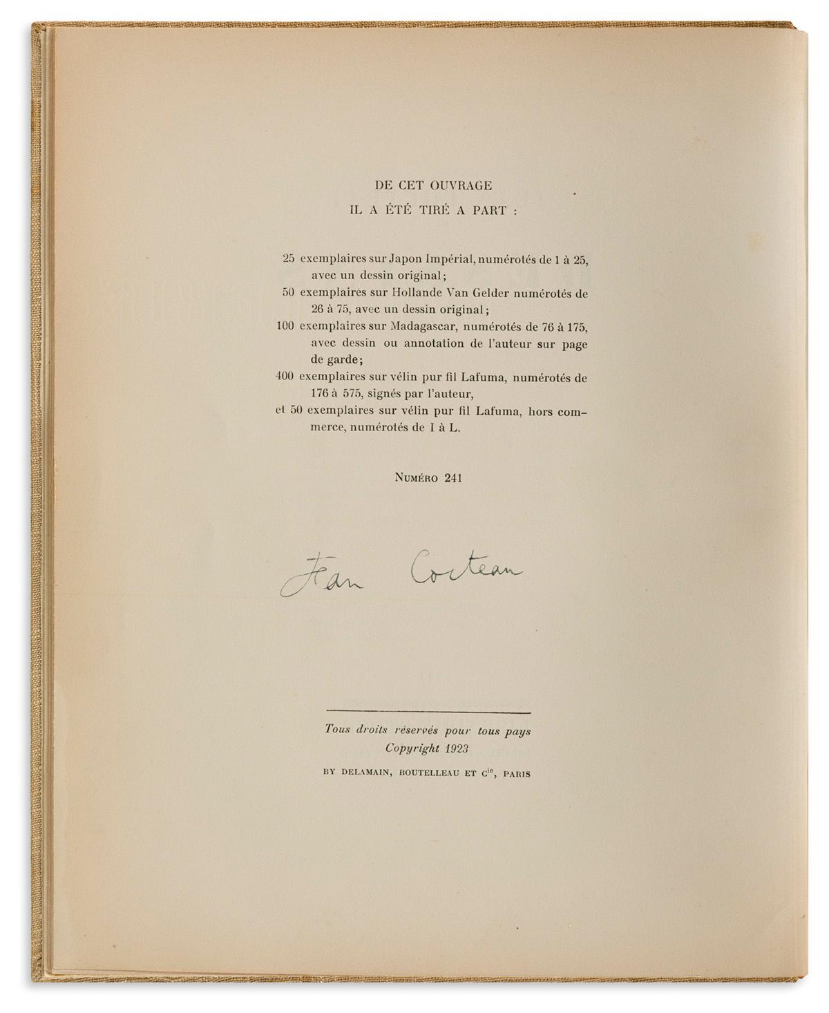 JEAN-COCTEAU-(1889-1963)-Dessins