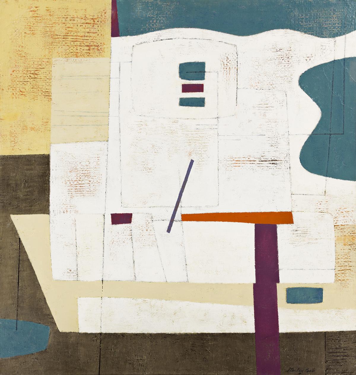 STANLEY BATE (1903-1972, AMERICAN) Zuen.