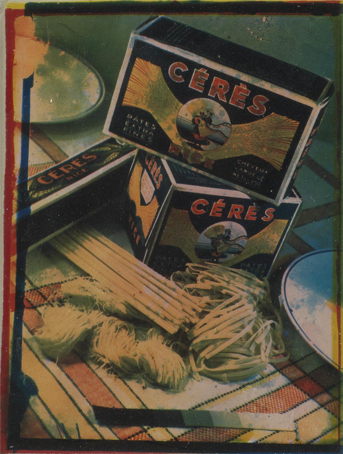JAROSLAV RÖSSLER (1902-1990) Advertising study for Céres pasta.