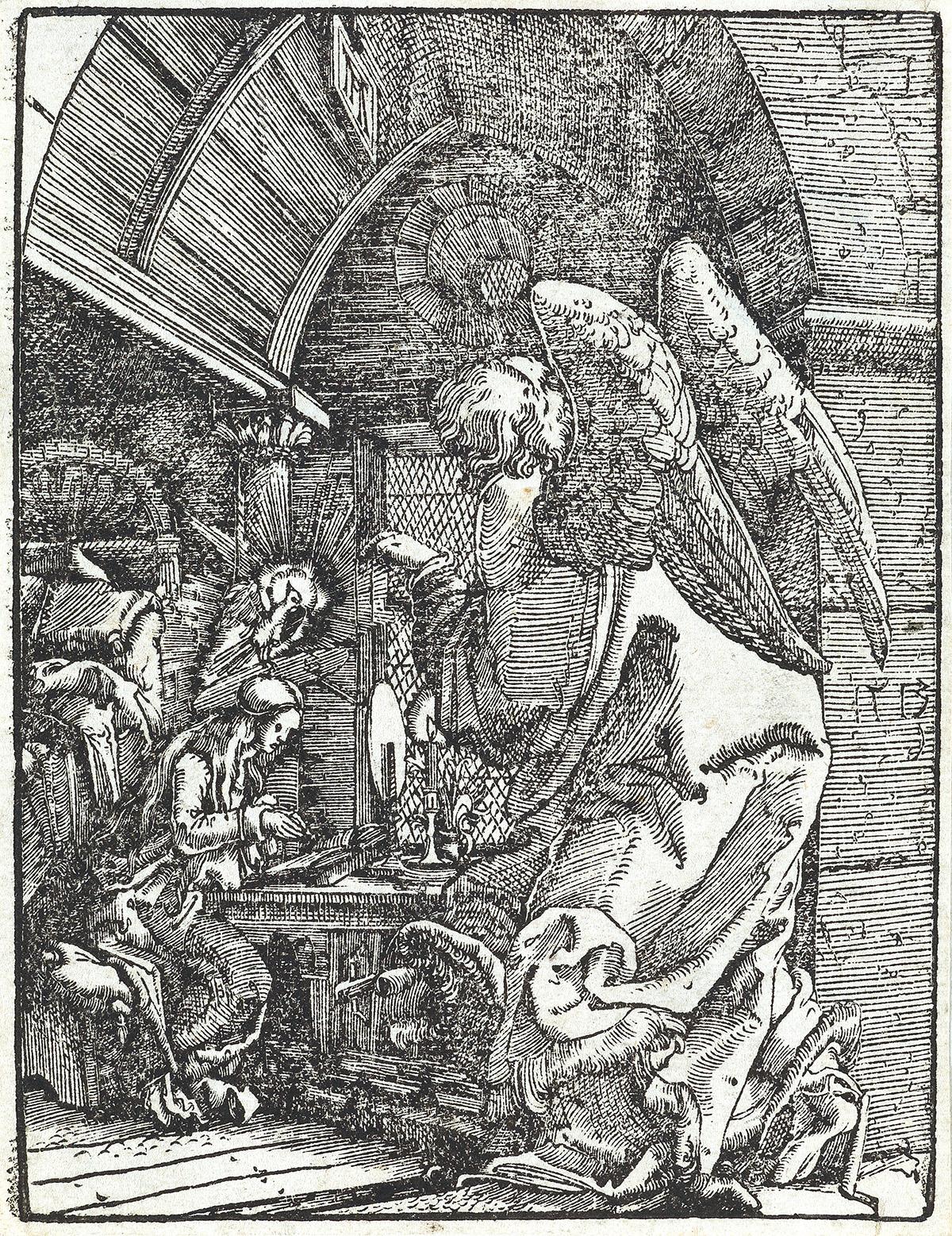 ALBRECHT ALTDORFER The Annunciation.