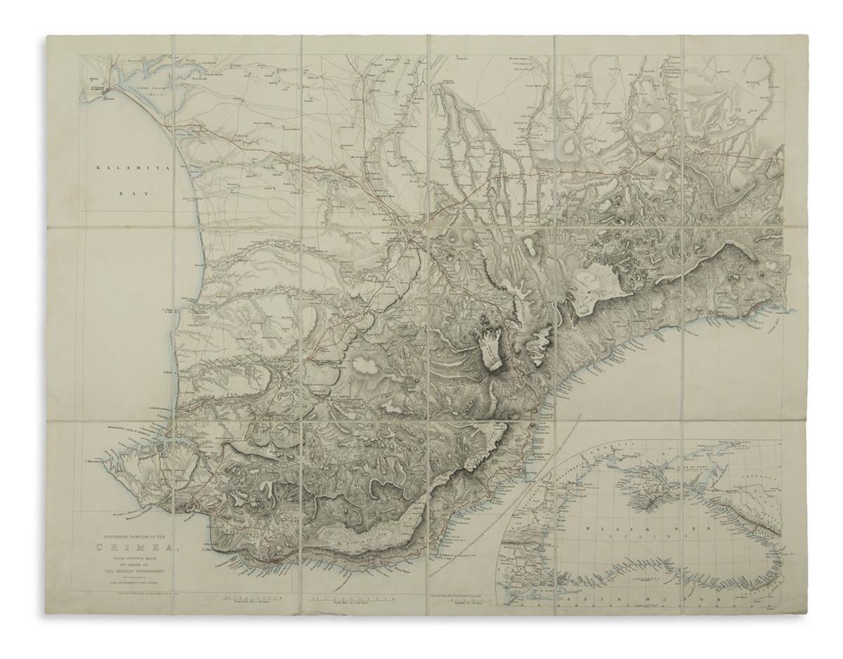 ARROWSMITH-JOHN-Southern-Portion-of-the-Crimea-from-Surveys-