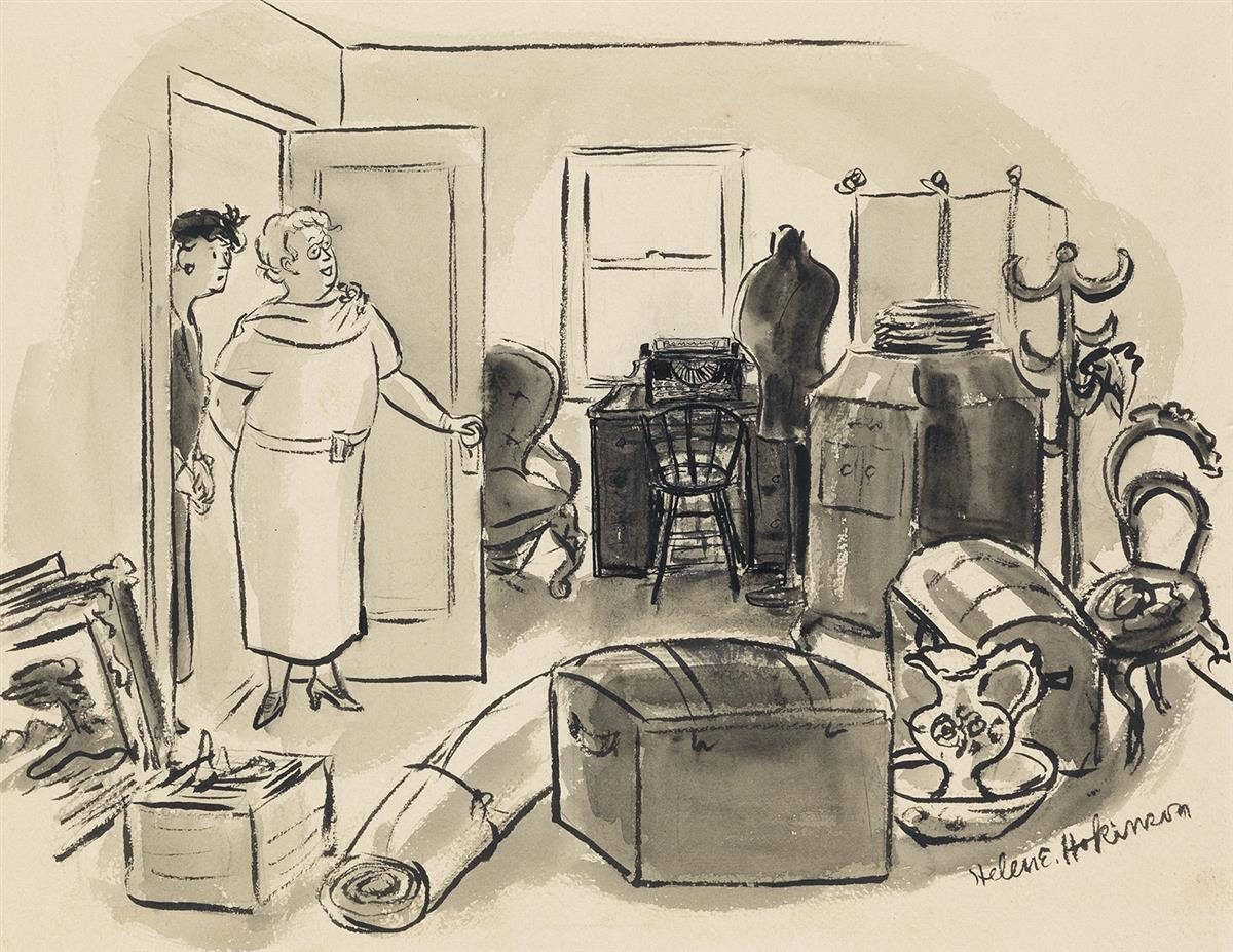 HELEN-HOKINSON-(THE-NEW-YORKER--CARTOON)-This-is-Williams-li