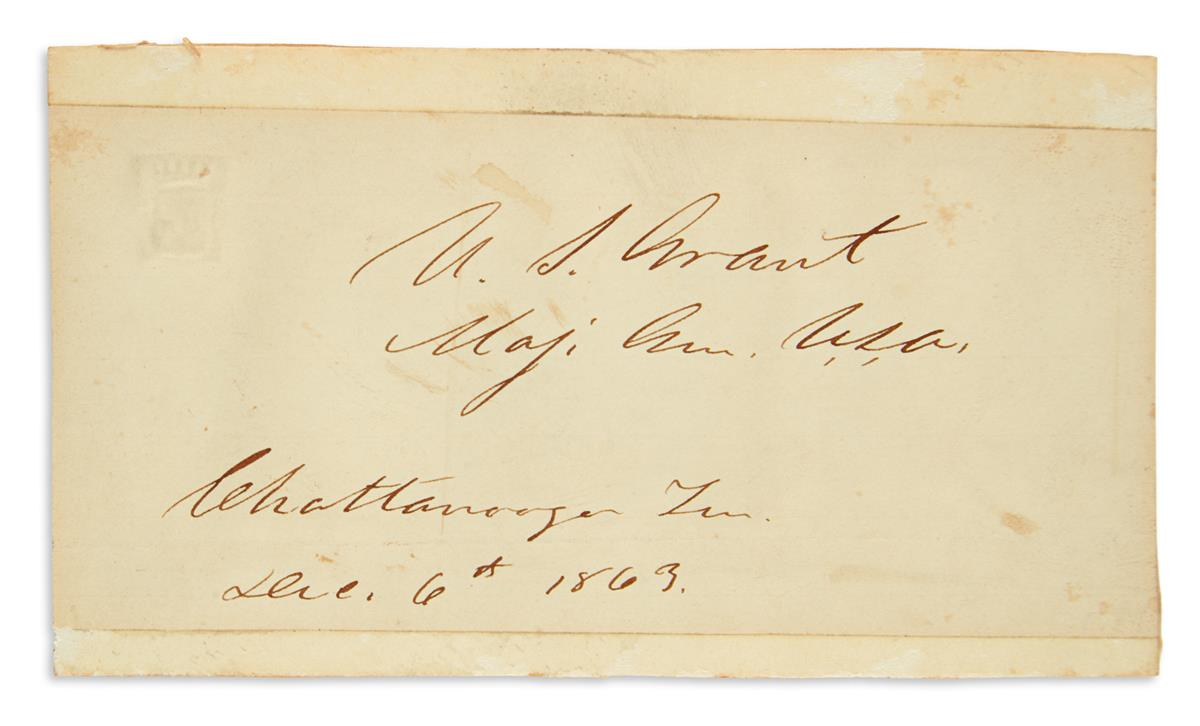 (CIVIL-WAR)-GRANT-ULYSSES-S-Signature-and-date-US-Grant--Maj