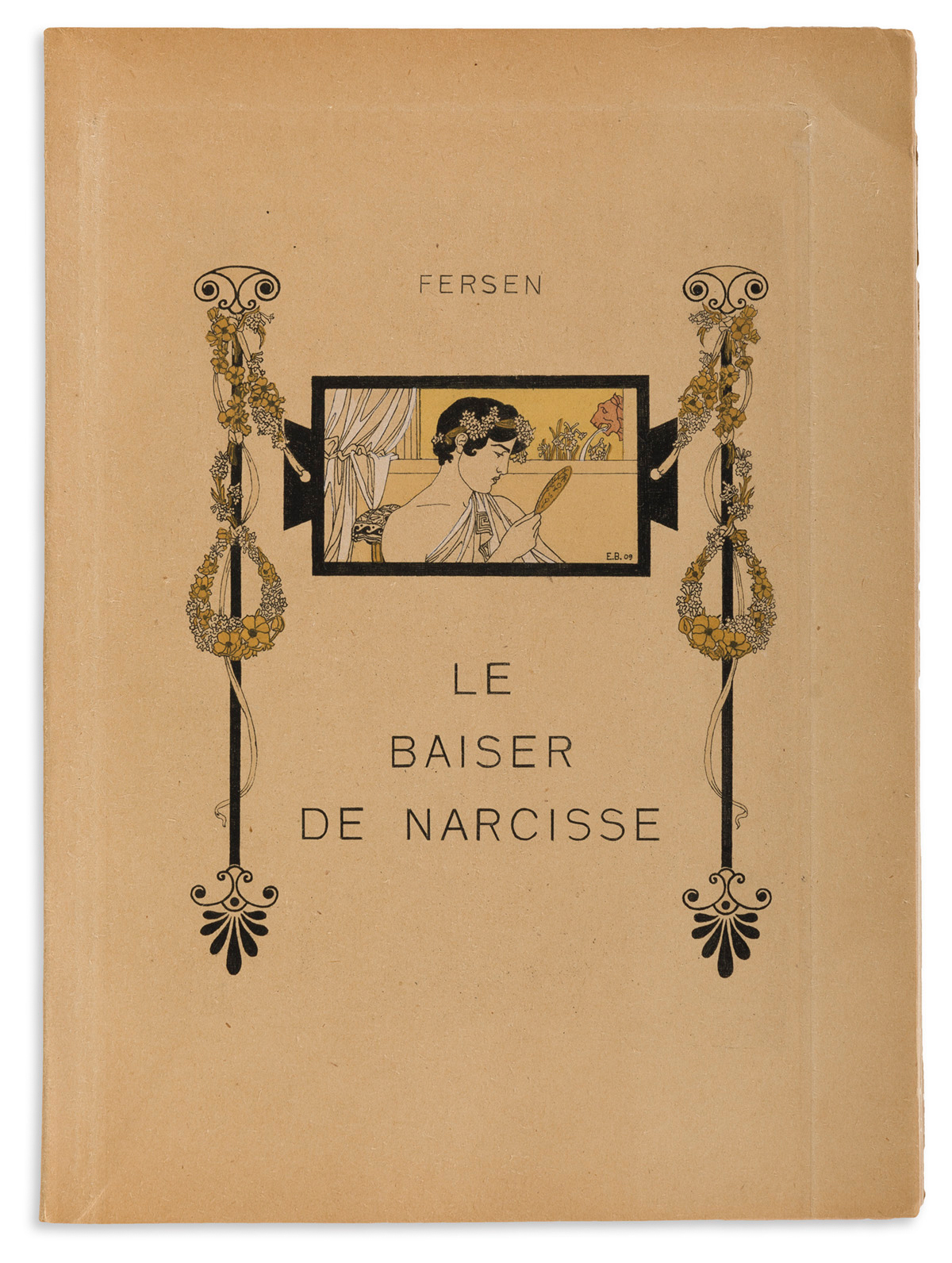 JACQUES D'ADELSWÄRD-FERSEN (1880-1923)  Le Baiser de Narcisse.