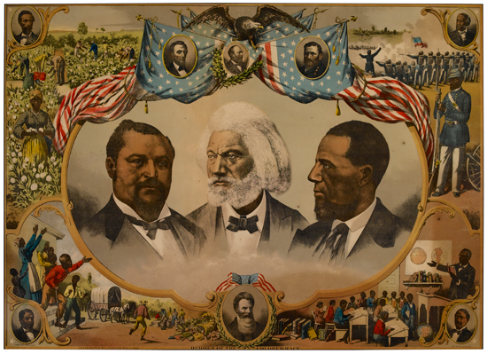 (DOUGLASS, FREDERICK.) Heroes of the Colored Race.