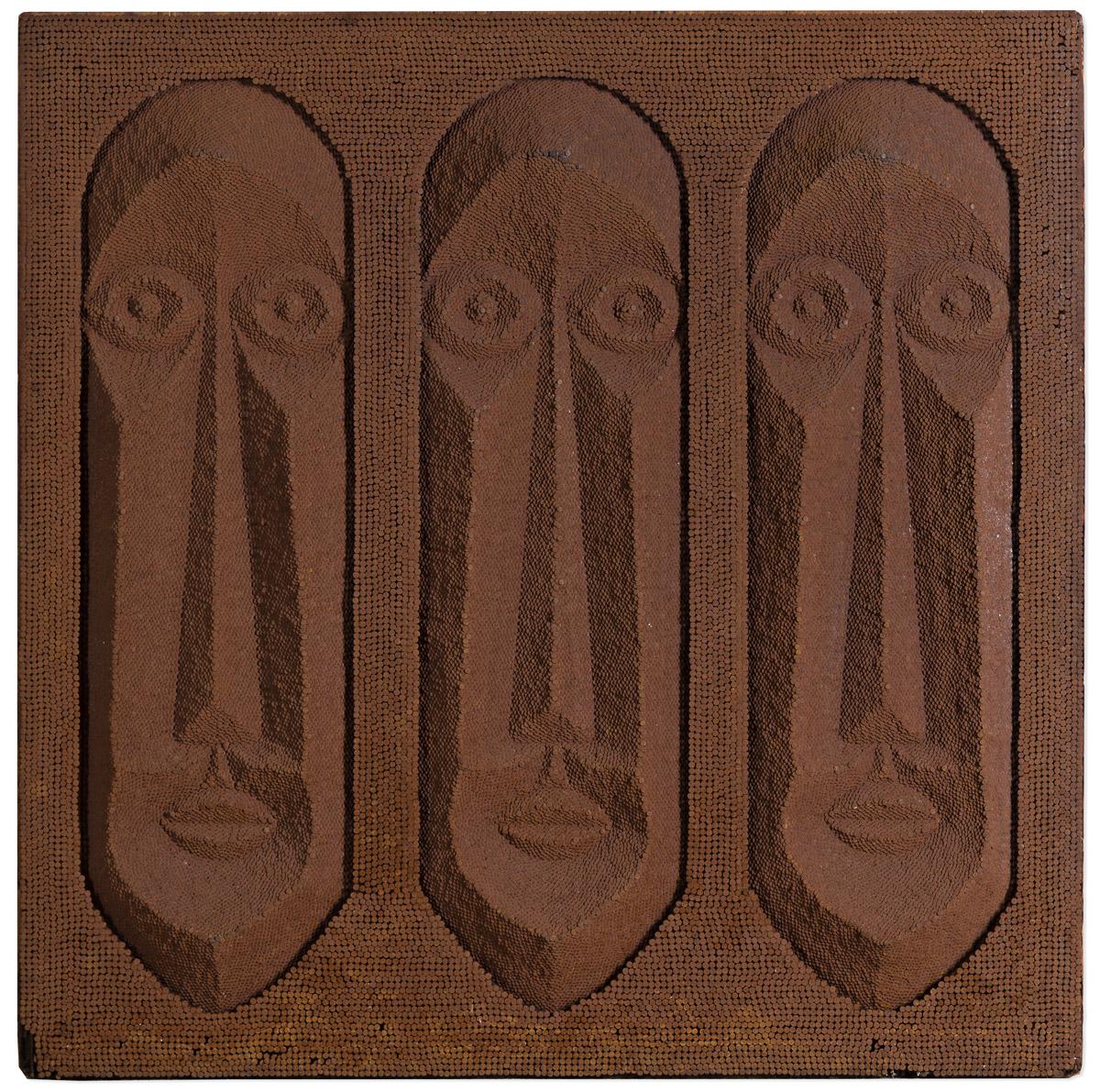 CARL RICHARD DINGBAT SMITH (1927 - 1980S) Three Brothers.