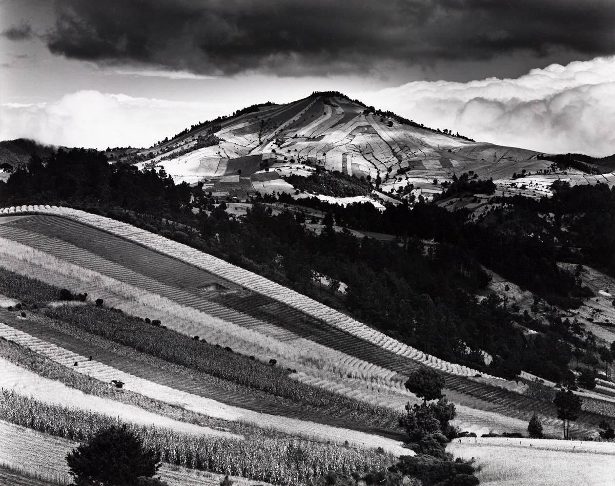 BRETT WESTON (1911-1993) Guatemala Hills.