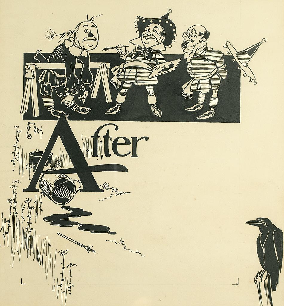 W.W. DENSLOW. Illustration from The Wonderful Wizard of Oz.