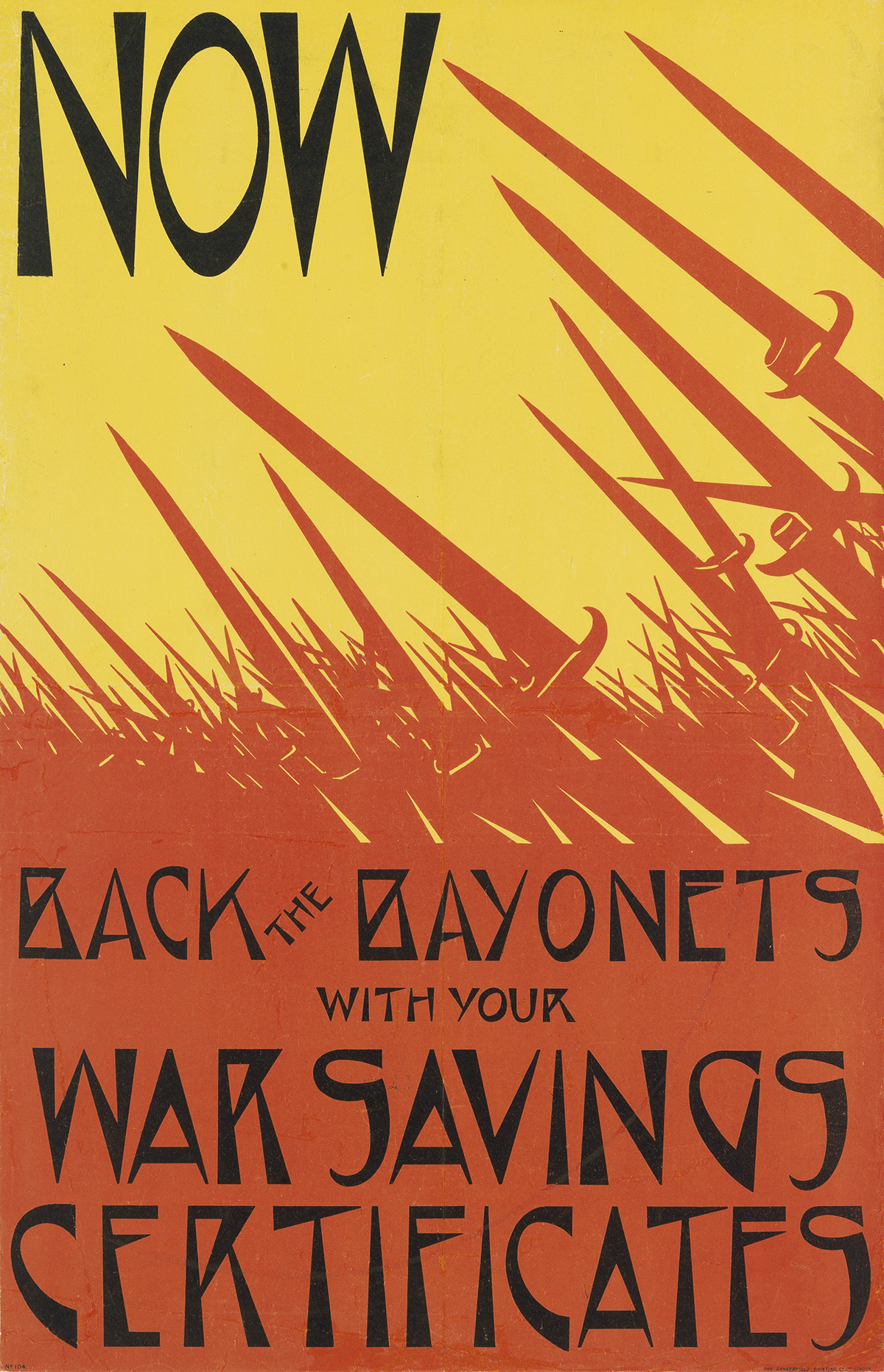 CHRISTOPHER-RW-NEVINSON-(1889-1946)-NOW--BACK-THE-BAYONETS-1