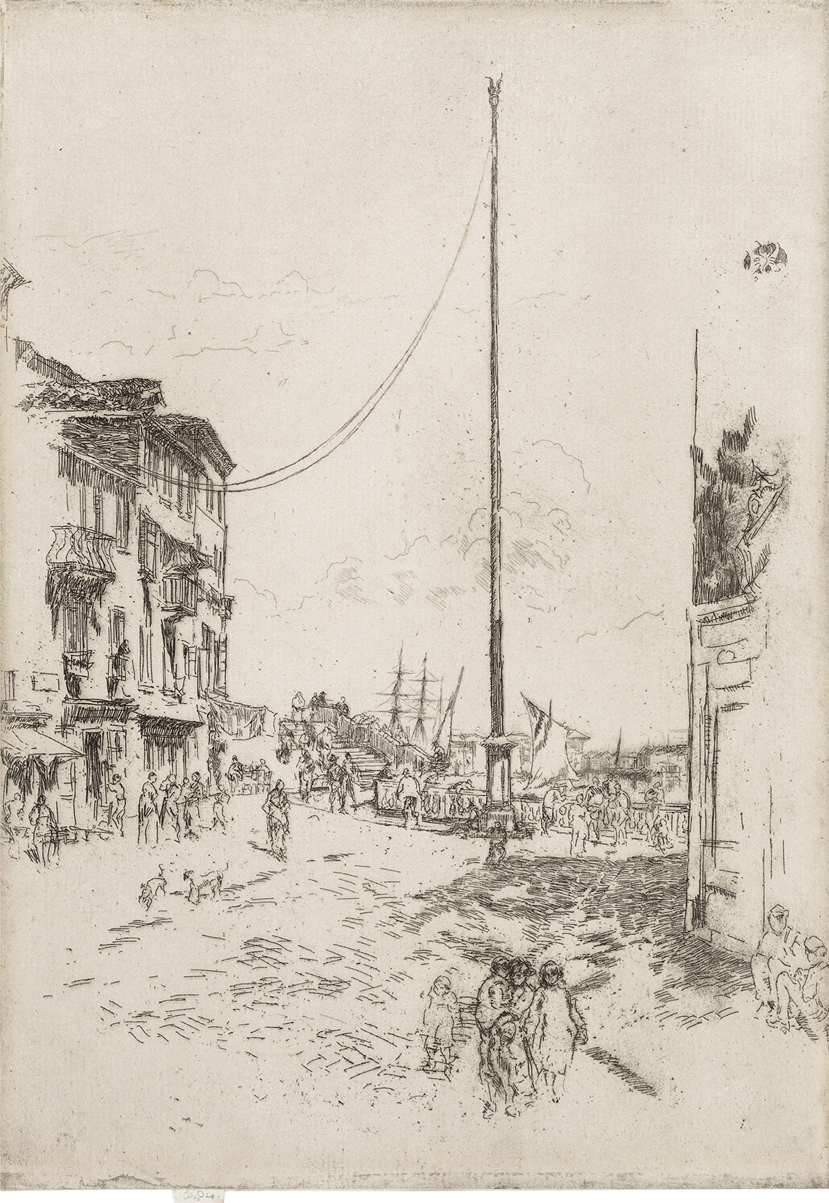 JAMES A. M. WHISTLER The Little Mast.