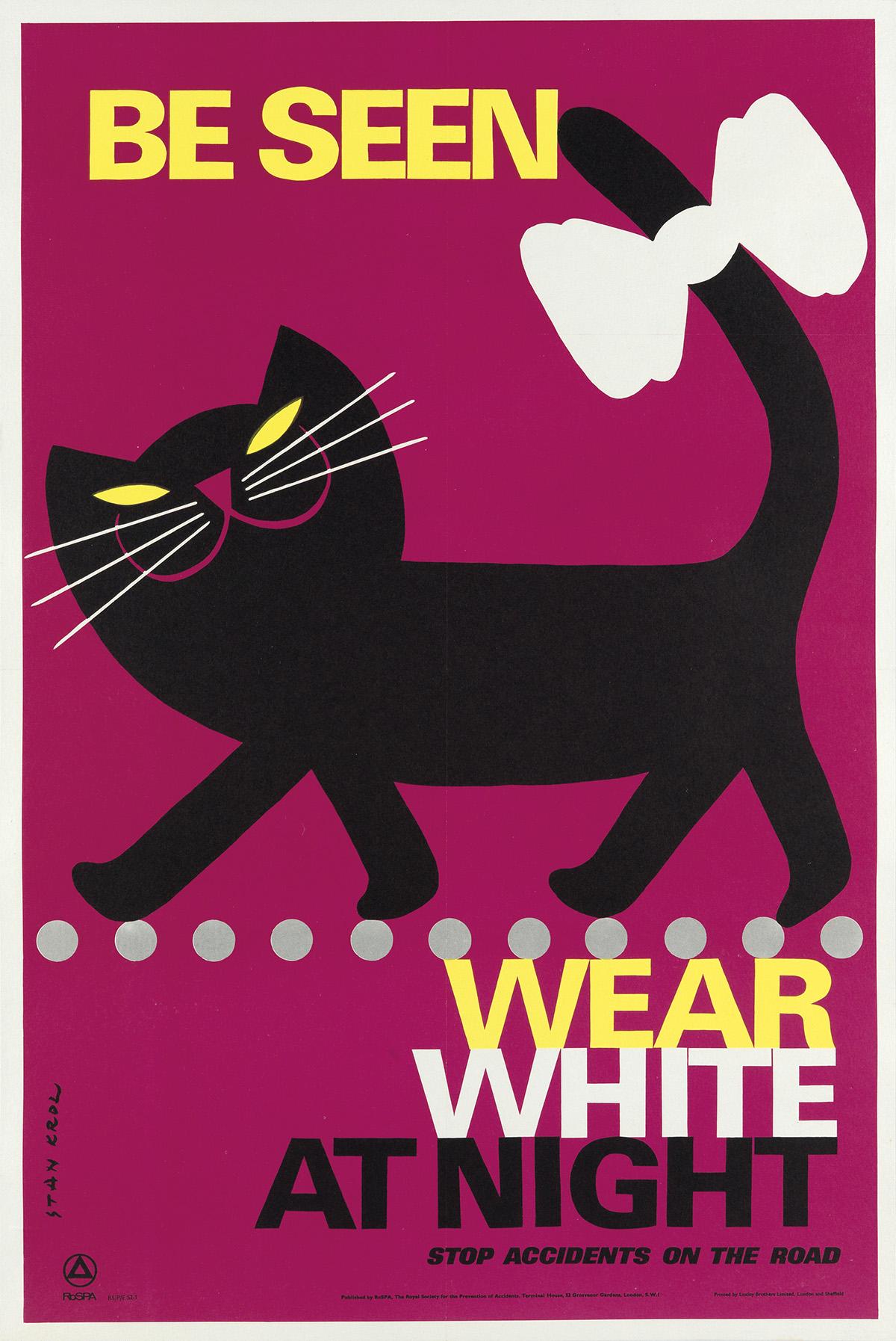 STAN-KROL-(1910-1985)-BE-SEEN--WEAR-WHITE-AT-NIGHT-Circa-196