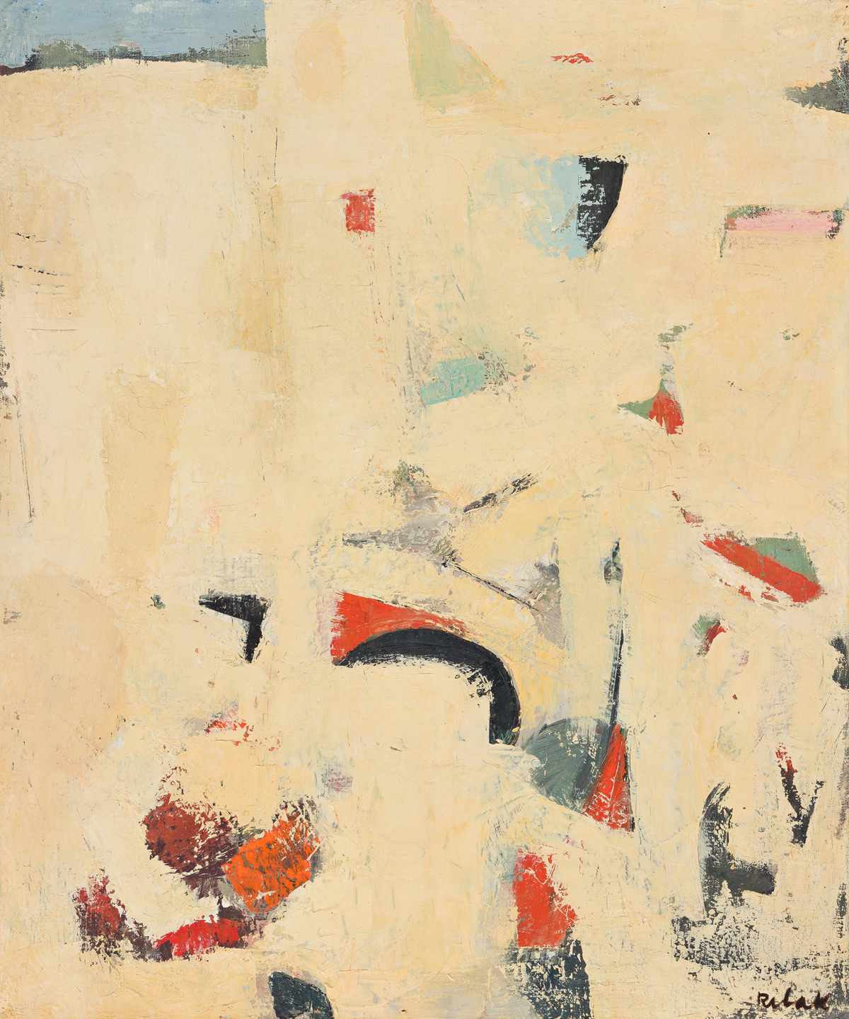 LOUIS RIBAK (1902 - 1979, LITHUANIAN/AMERICAN) Untitled, (No. 9)