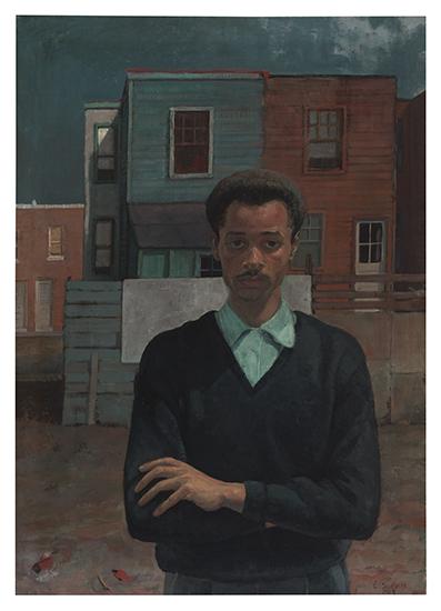 LOUIS B. SLOAN (1932 - 2008) Self Portrait.