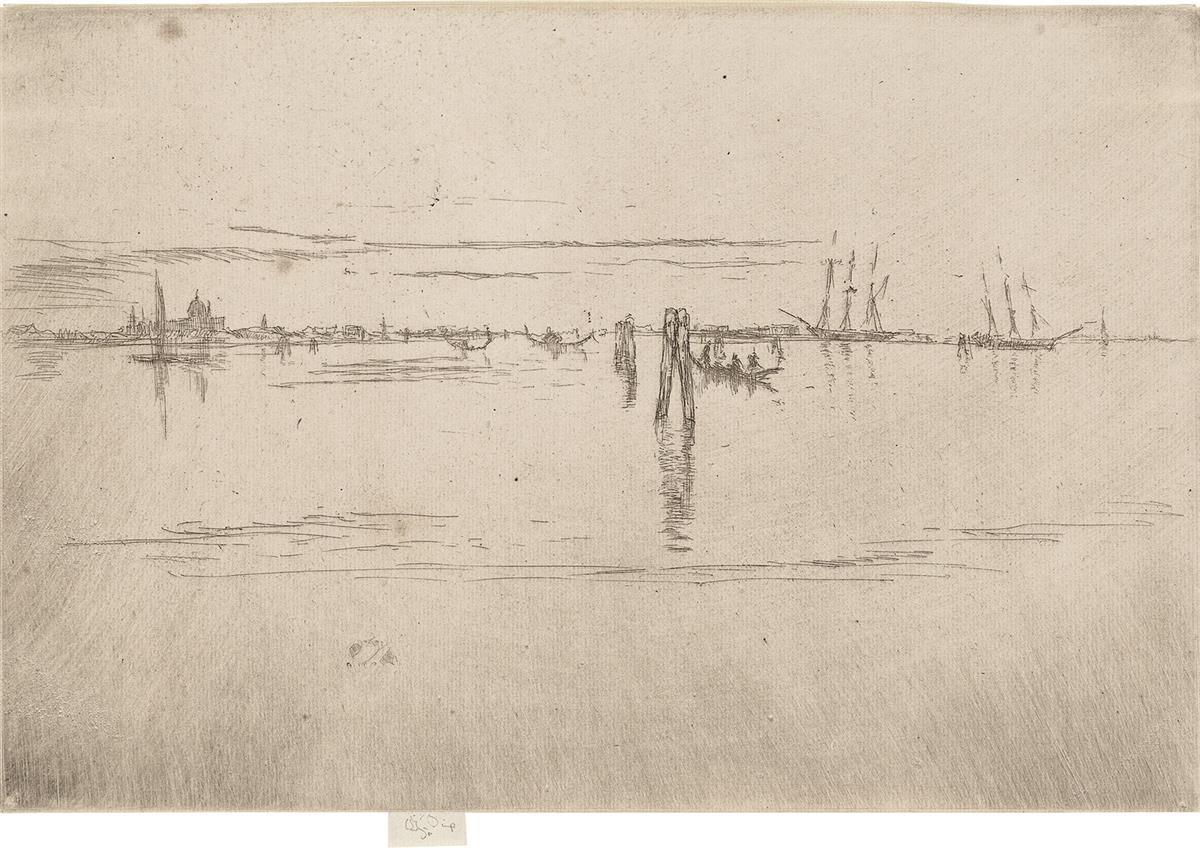 JAMES A. M. WHISTLER Long Lagoon.