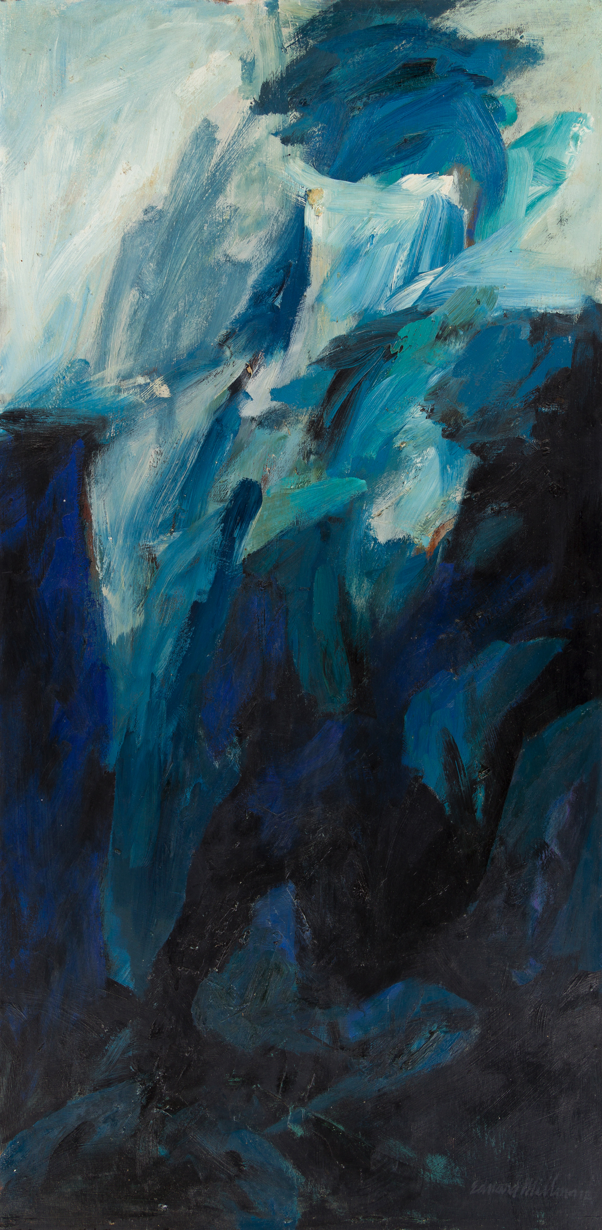 EDWARD MILLMAN (1907 - 1964, AMERICAN) Subterranean.