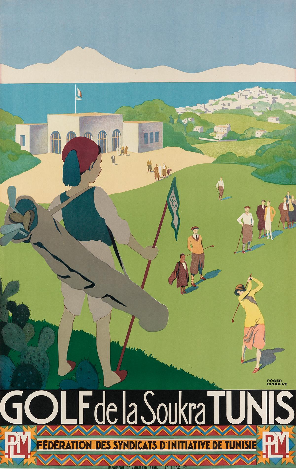 ROGER-BRODERS-(1883-1953)-GOLF-DE-LA-SOUKRA-TUNIS-1932-39x24-inches-99x63-cm-Vaugirard-Paris