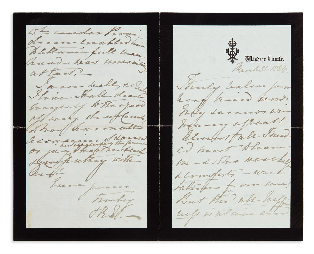 VICTORIA;-QUEEN-OF-THE-UK-Autograph-Letter-Signed-V[ictoria]