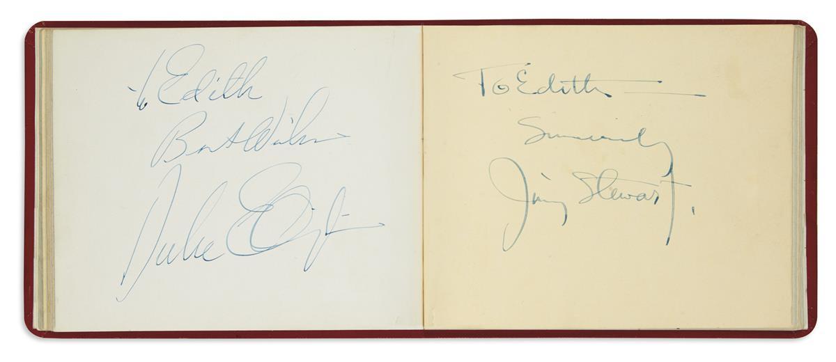 (ALBUM)-Autograph-album-containing-over-50-Signatures-autogr