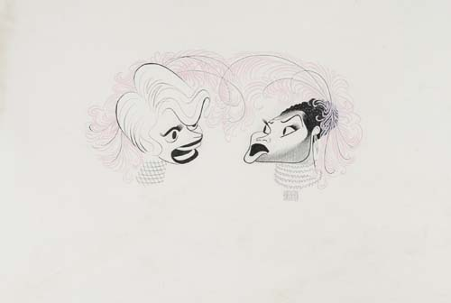 Pearl Bailey and Carol Channing