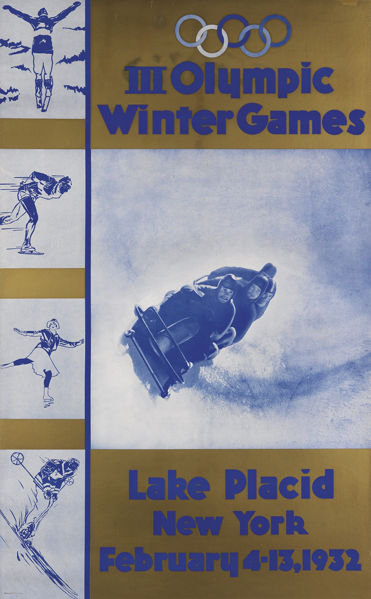 DESIGNER-UNKNOWN-III-OLYMPIC-WINTER-GAMES--LAKE-PLACID-1932-