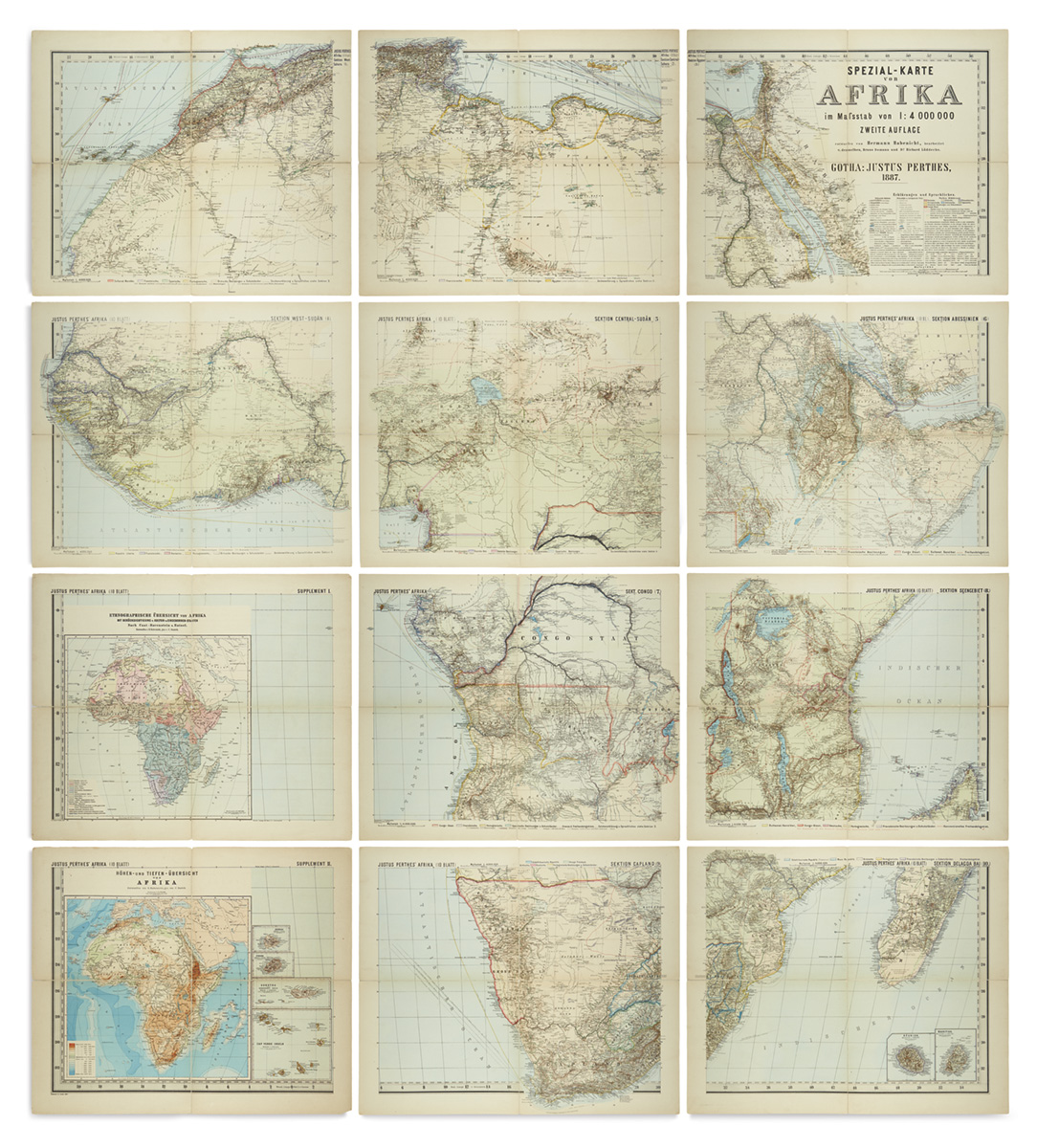 Maps & Atlases, Natural History & Color Plate Books