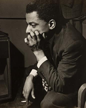 SKIPP ADELMAN & CHARLES PETERSON (1900-1976) A group of 4 jazz photographs, including two of Teddy Wilson by Adelman and one of Peewee