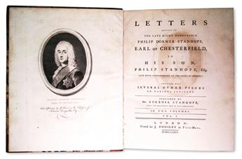 CHESTERFIELD-PHILIP-DORMER-STANHOPE-fourth-Earl-of-Letters--