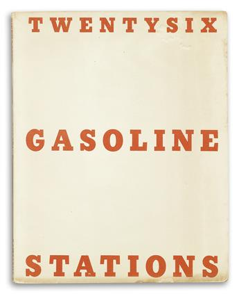 EDWARD RUSCHA. An archive of artist books and ephemeral materials documenting Ruschas early career, including a signed first edition o
