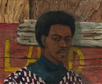 CHARLES SEARLES (1937 - 2004) Untitled (Portrait of a Young Man).