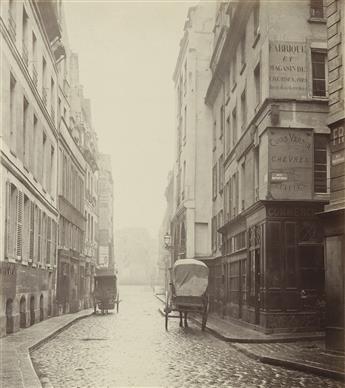 CHARLES MARVILLE (1813-1879) Rue Mauconseil, Paris