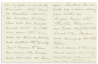 (FIRST LADIES.) Three Autograph Letters Signed: Edith Kermit Roosevelt (2) * Grace Coolidge.