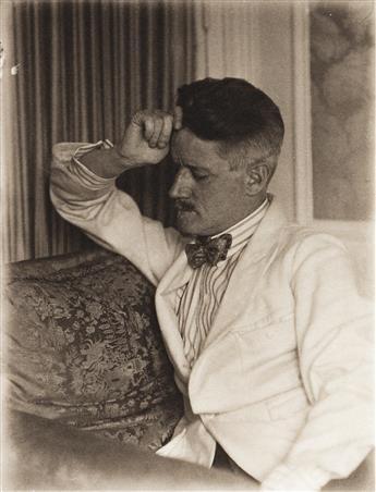 BERENICE ABBOTT (1898-1991) A portfolio entitled Portraits in Palladium, Paris - New York 1926-1929.